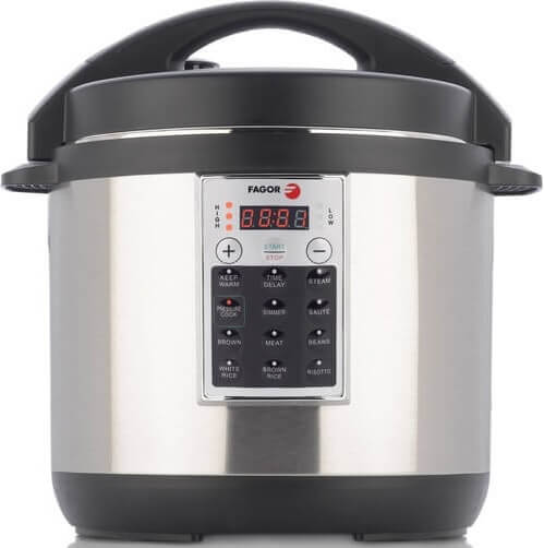Non Stick Electric Pressure Cooker (Stainless Steel)