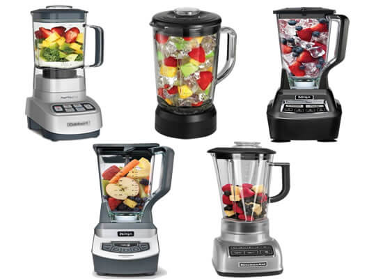 5 Top Rated Blenders (Only HIGH END Blenders)