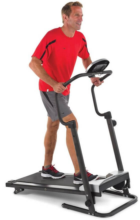 Easy Storage Compact Folding Treadmill With Incline