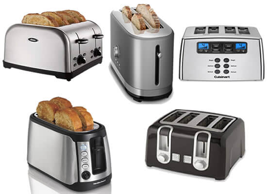 top rated toasters