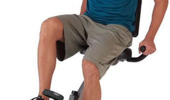 Collapsible, Space Saving Exercise Bike
