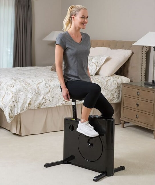 space saving exercise bike