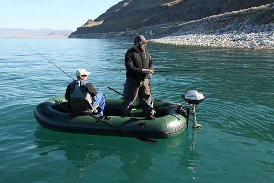2 man inflatable fishing boat
