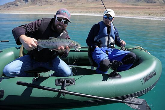 2 person inflatable fishing boat