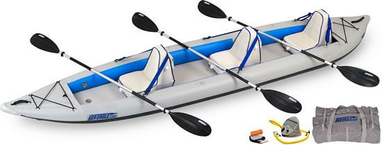 3 man inflatable kayak
