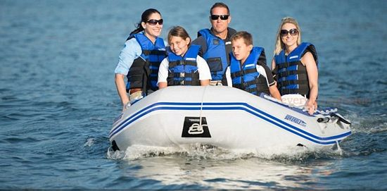inflatable boat with motor for sale
