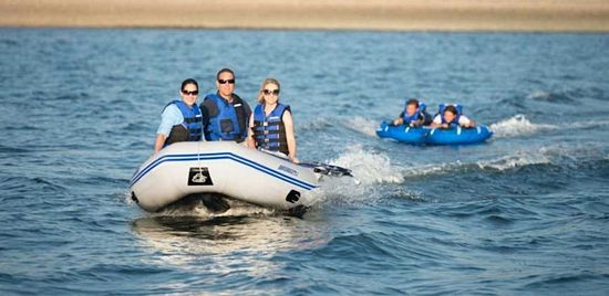 inflatable power boat