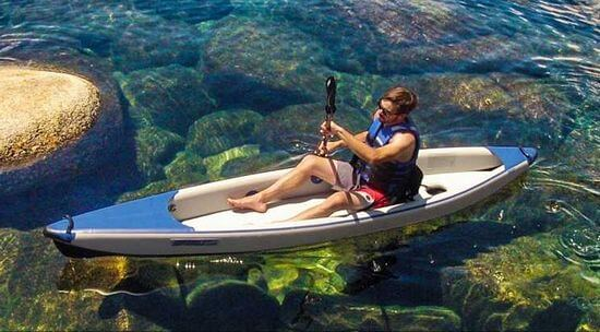 lightweight inflatable kayak