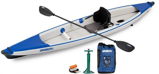 one man inflatable kayak