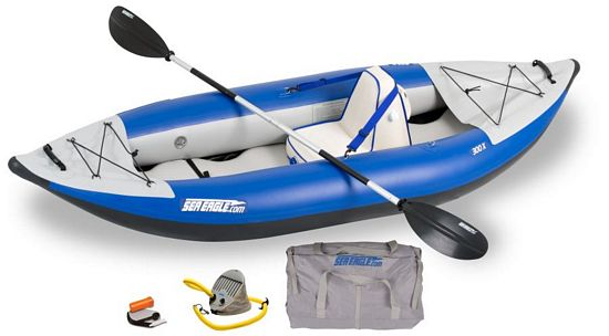 single inflatable kayak