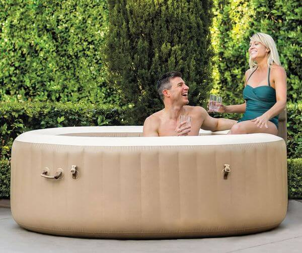 Best Portable Inflatable Hot Tub (4-person Blow Up Spa)