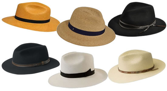 BEST Men s Wide Brim Fedora Hats (10 PERFECT Models) 3df23c835f0