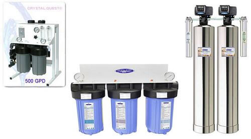 whole house water filter that removes fluoride