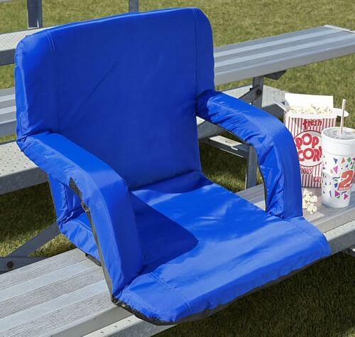 Extra Wide Padded Stadium Seats With Backs (For Bleachers)