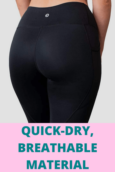 Best High Waisted Compression Leggings (With Side Pockets)