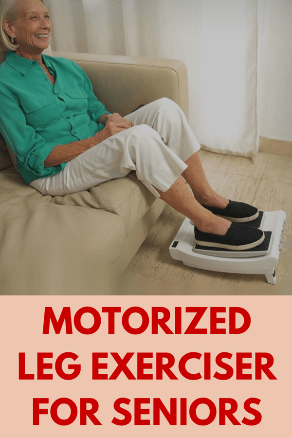 Leg Exerciser With Remote