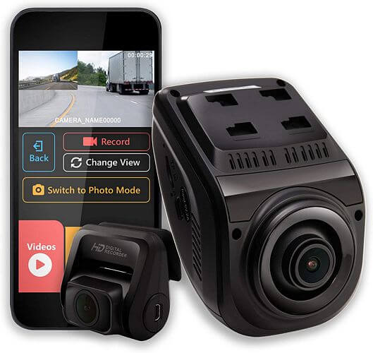 best front and rear dash cam under $200