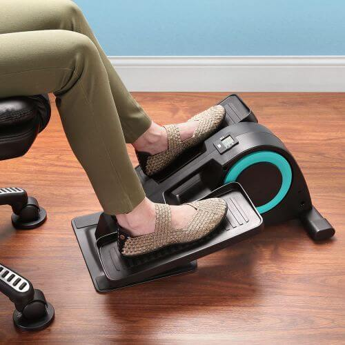 Seated Compact Under Desk Elliptical Trainer