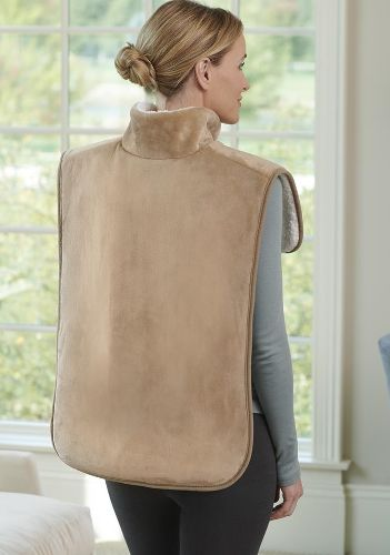 cordless heat wrap for neck and shoulder