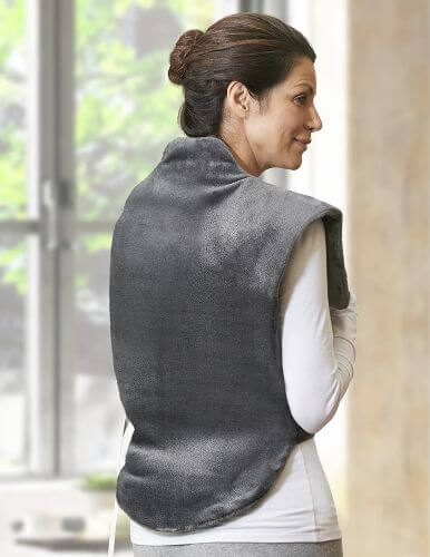 heating pad wrap for shoulder and neck
