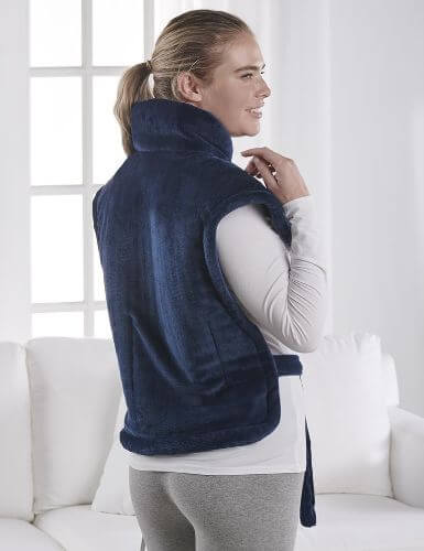 neck and shoulder wrap heating pad